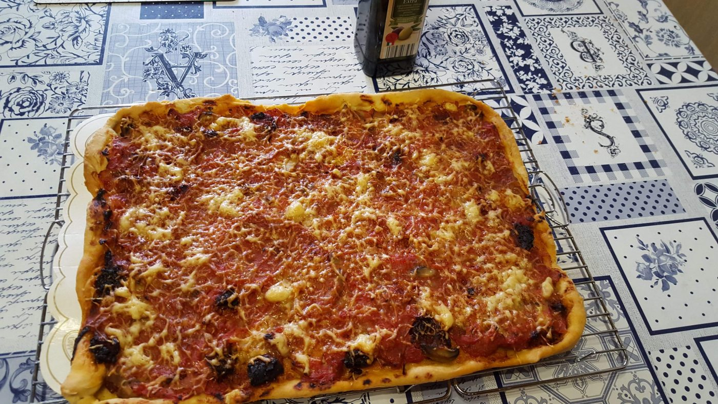 Ma pâte à pizza digne d'un pizzaiolo !