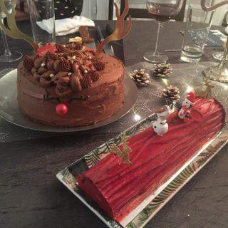 "Layer cake ""renne de Noël"""