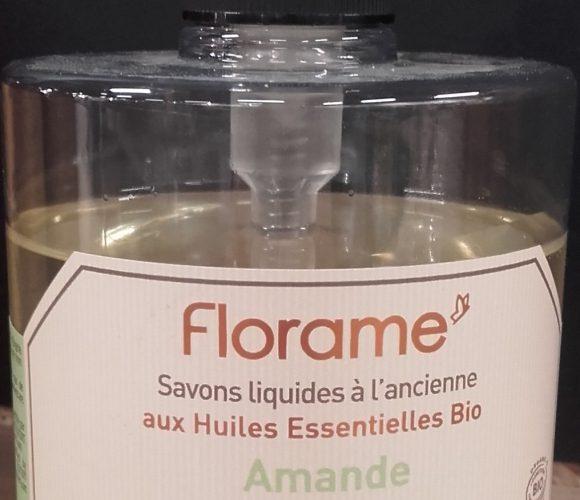 J'ai testé pour vous florame savon liquide aux huiles essentielles BIO