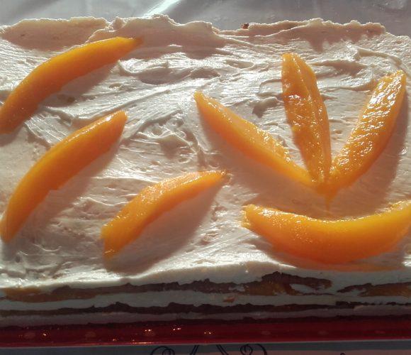 Gâteau aux petits beurre mascarpone & mangue 🥭🥭  SANS CUISSON