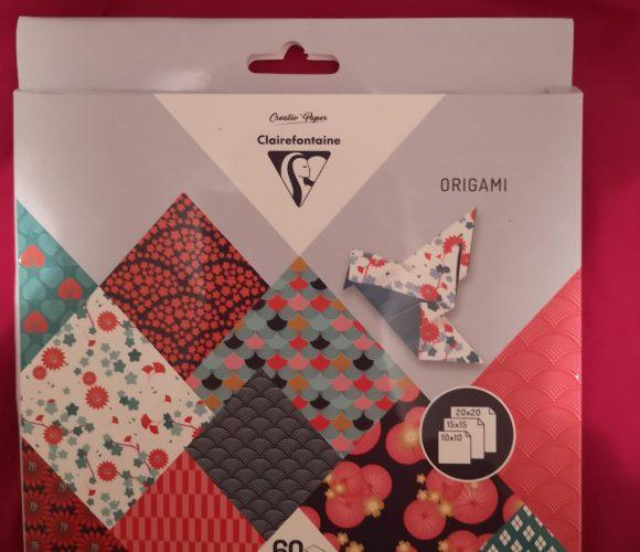 J'ai testé pour vous kit feuilles origami