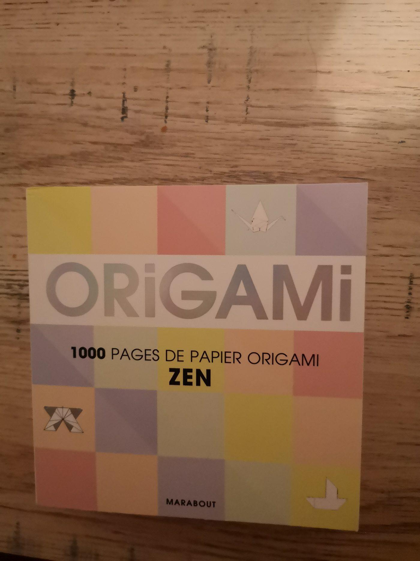 J'ai testé pour vous 1000 pages d'origami