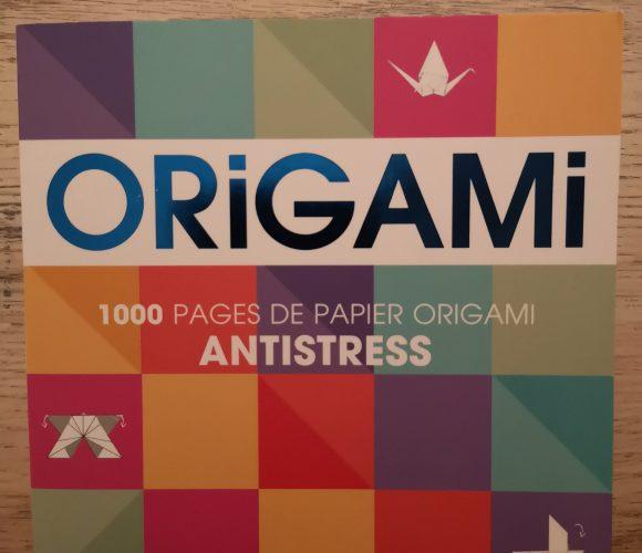 J'ai testé pour vous carnet 1000 pages d'origami
