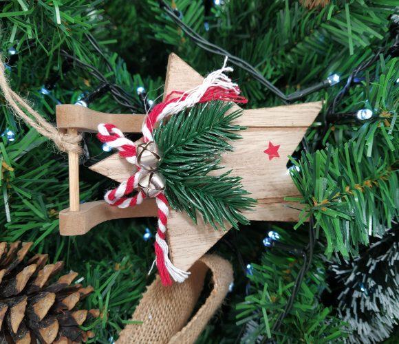 J'ai testé pour vous suspension Noël luge bois