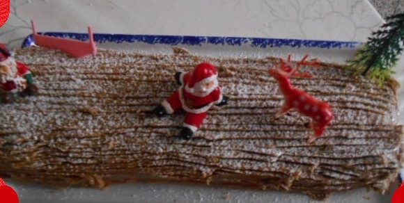Bûche de Noël chocolat   🎄🎁