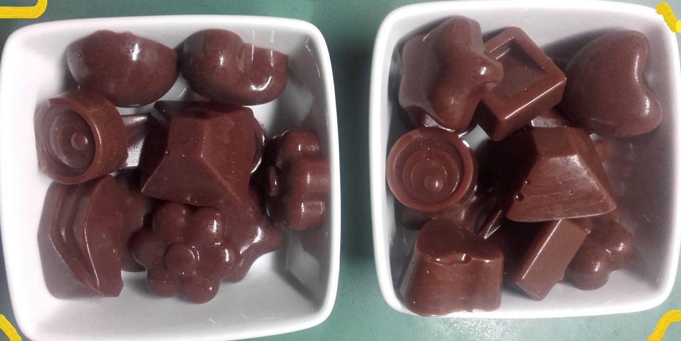 Caramels au chocolat   rapides et délicieux  !!! ce ne sont pas des chocolats