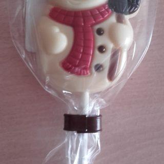 J'ai testé pour vous bonhomme de neige mais tout en chocolat !!!