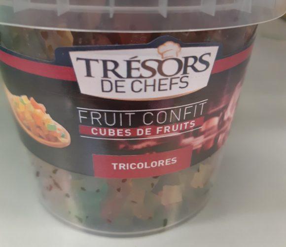 recette de cake aux fruits confits «Trésors de chefs»
