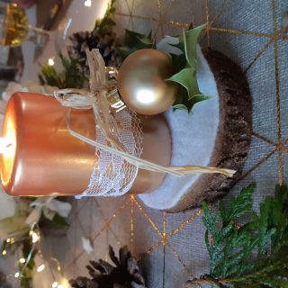 J'ai testé pour vous la dentelle blanche pour décorer de jolie bougies