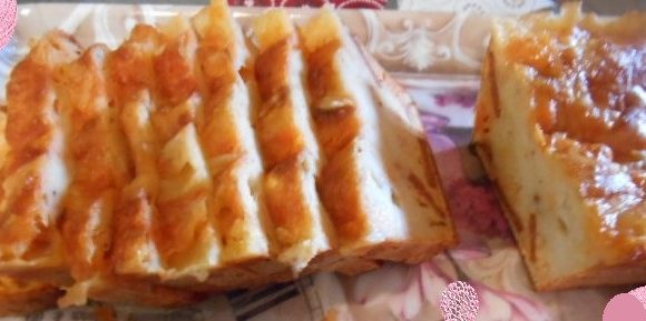 Cake au Maroilles et Chorizo