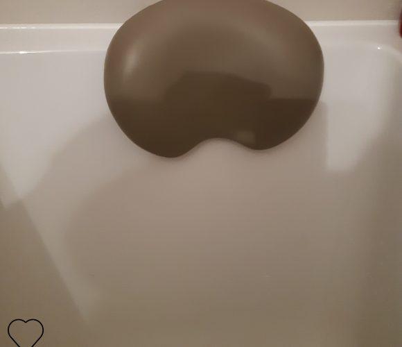 J'ai testé pour vous coussin de baignoire pour un repos bien mérité