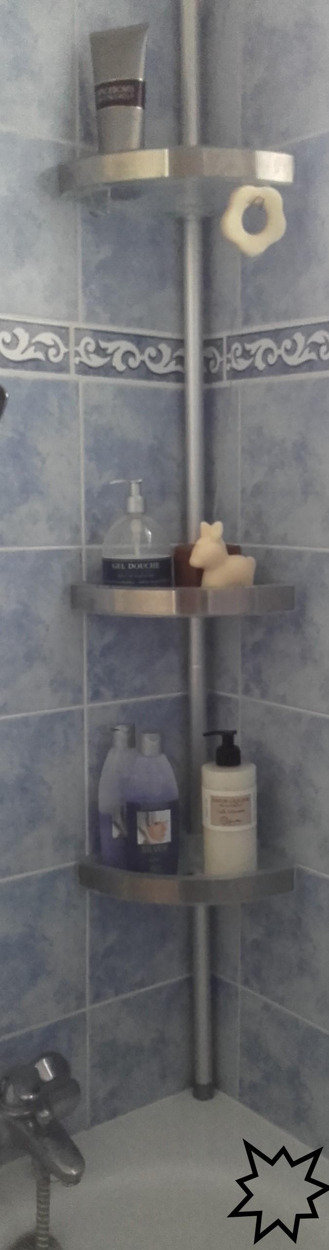J'ai testé pour vous etagère télescopique pour salle de bain WENKO