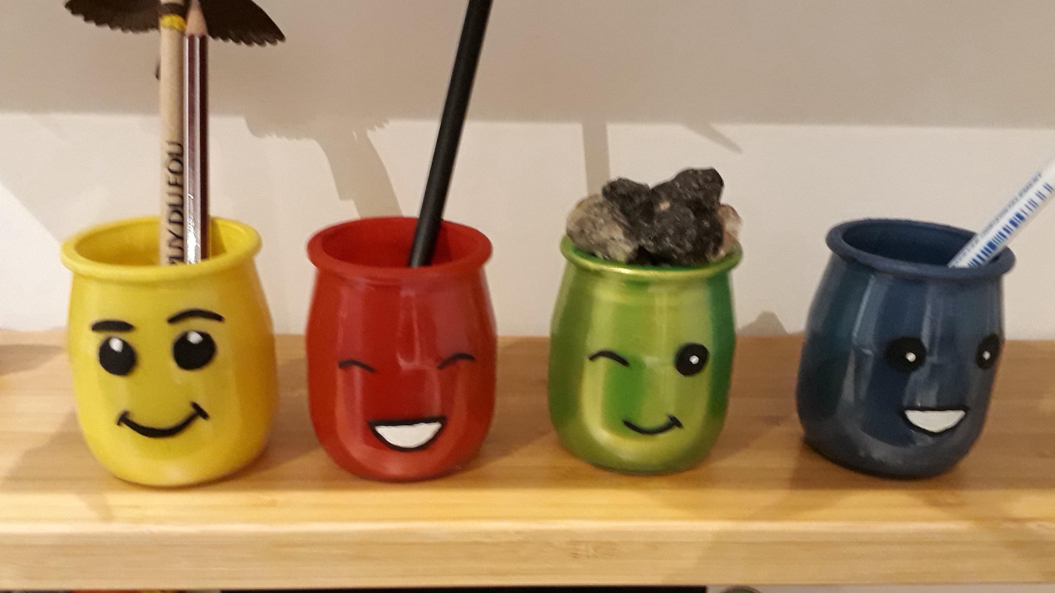 Pot à crayon maison