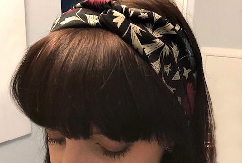 Mon headband en tissu !