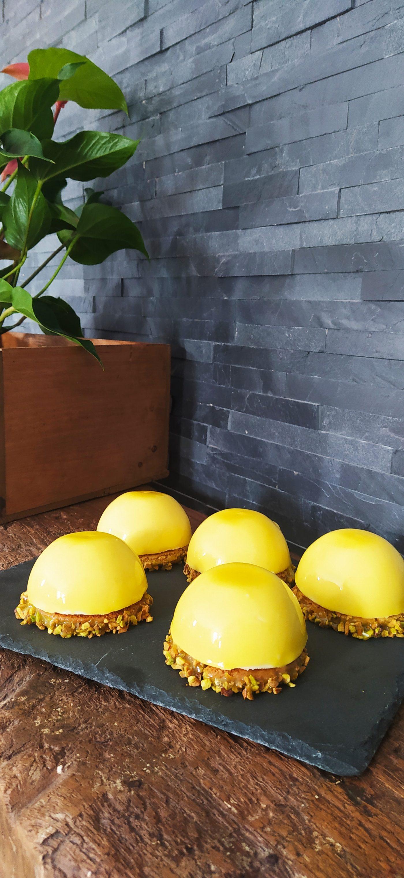 mes dômes citrons