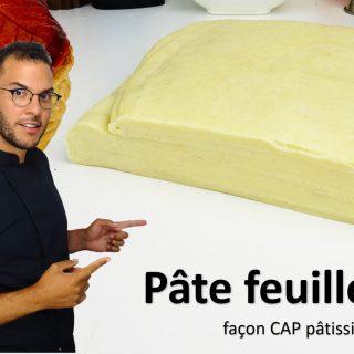 PÂTE FEUILLETÉE, façon CAP pâtissier