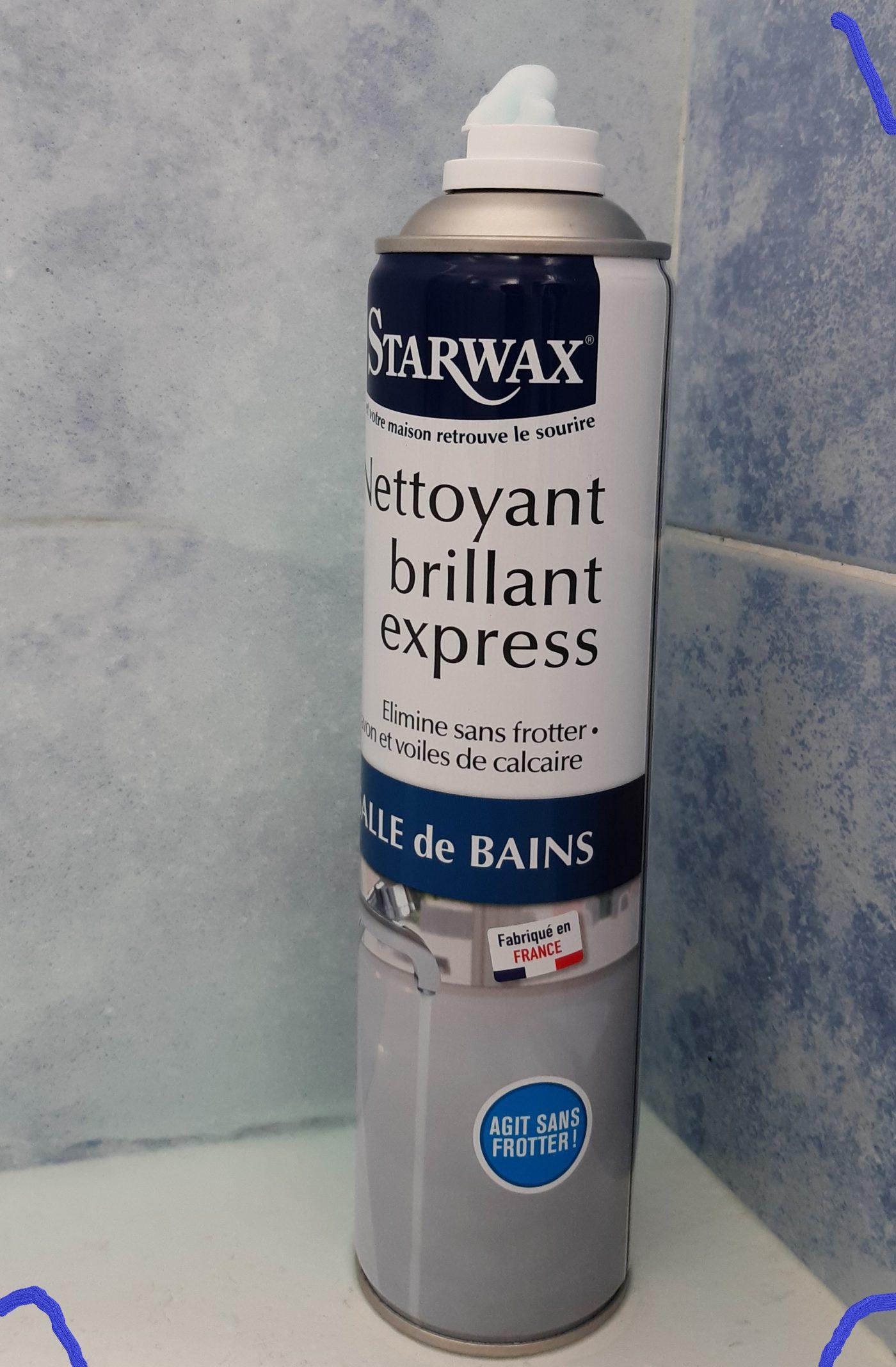 Nettoyant express pour salle de bain    Starwax 👍👍