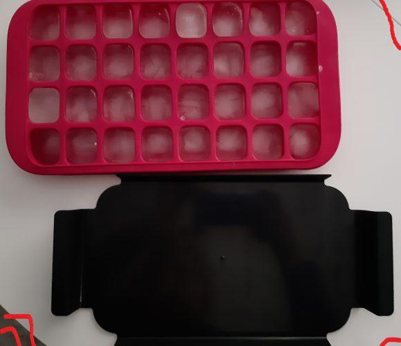 J'ai testé pour vous bac pour 32 glaçons rose  – 5 five Simply smart