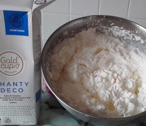 J'ai testé pour vous crème Végétale pour une Chantilly de qualité !!  Gold Cup