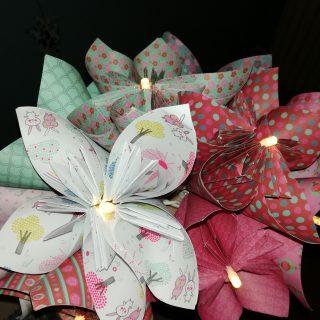 J'ai testé pour vous l'atelier guirlande en origami