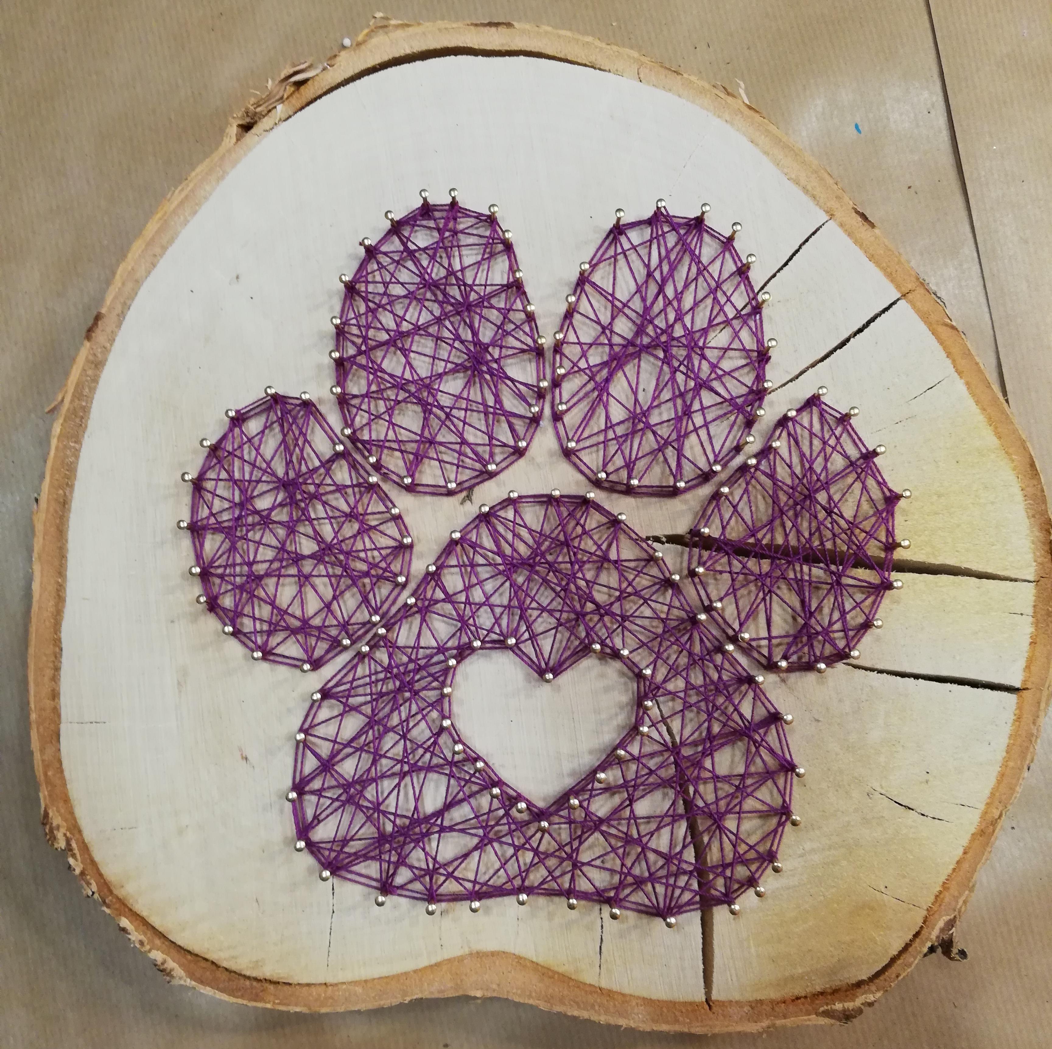 J'ai testé pour vous l'atelier string art