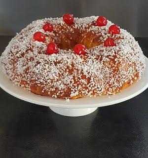 Gâteau (couronne) des Rois et des Reines !