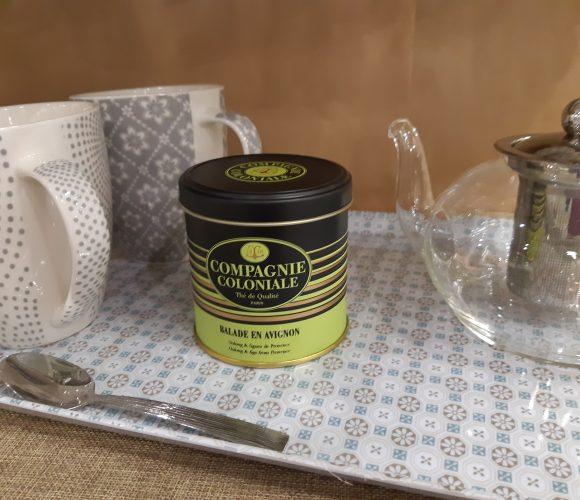 J'ai testé pour vous mon thé la balade en Avignon