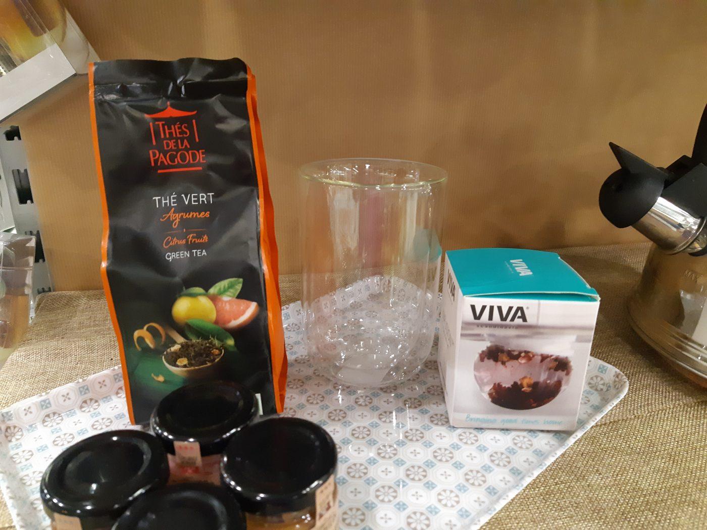 J'ai testé pour vous mon thé vert Agrumes