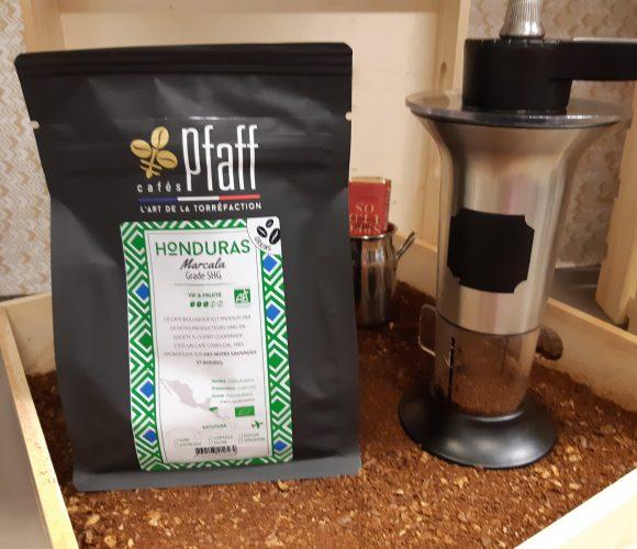 J'ai testé pour vous mon café Honduras a grain