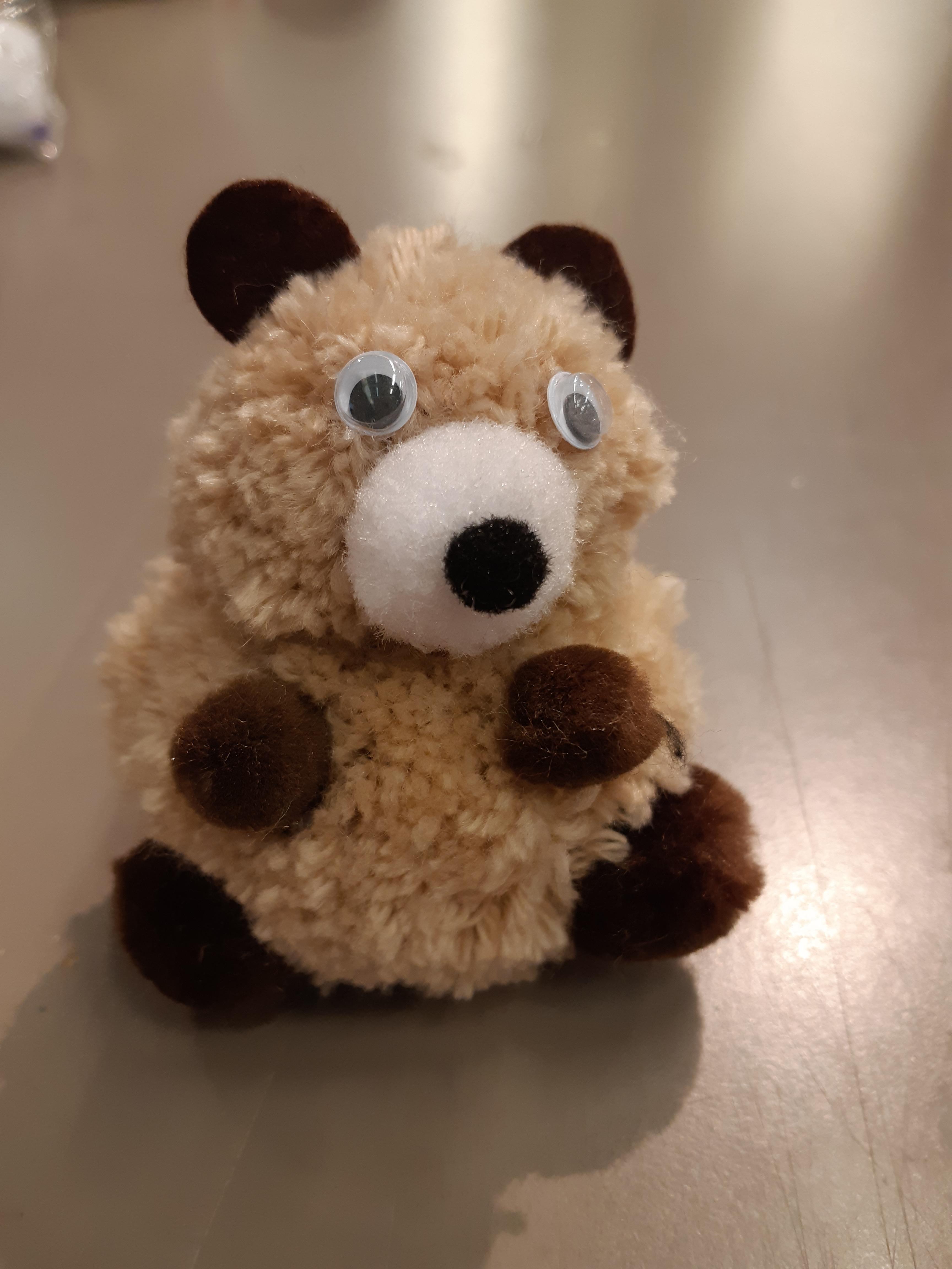 J'ai testé pour vous l'ourson en pompons
