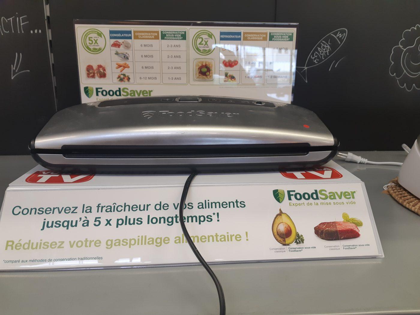 Le FoodSaver pour Mamie!!!