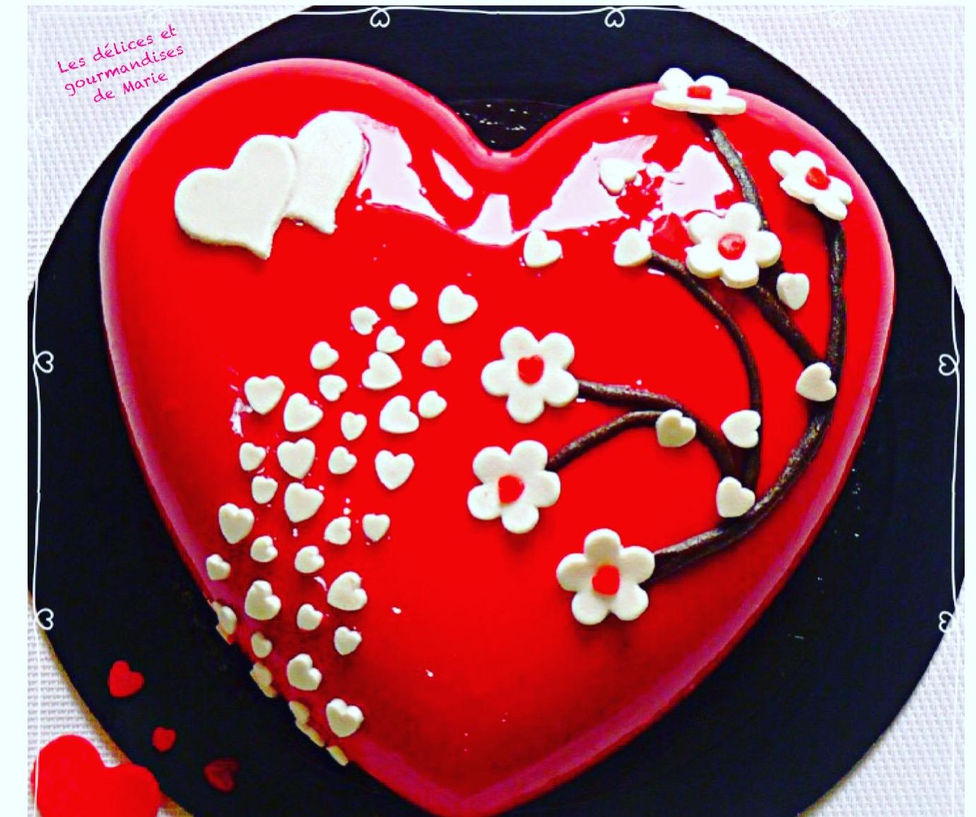 Coeur Sakura de la Saint-Valentin