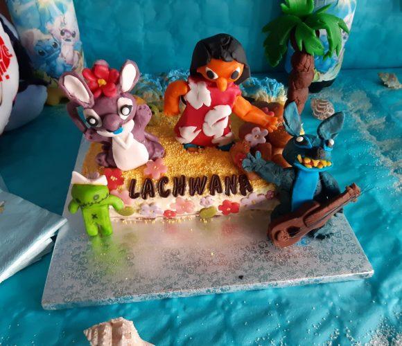 Gâteau Lilo et Stitch