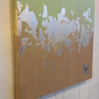 J'ai testé pour vous l'atelier tableau contemporain à la feuille d'or
