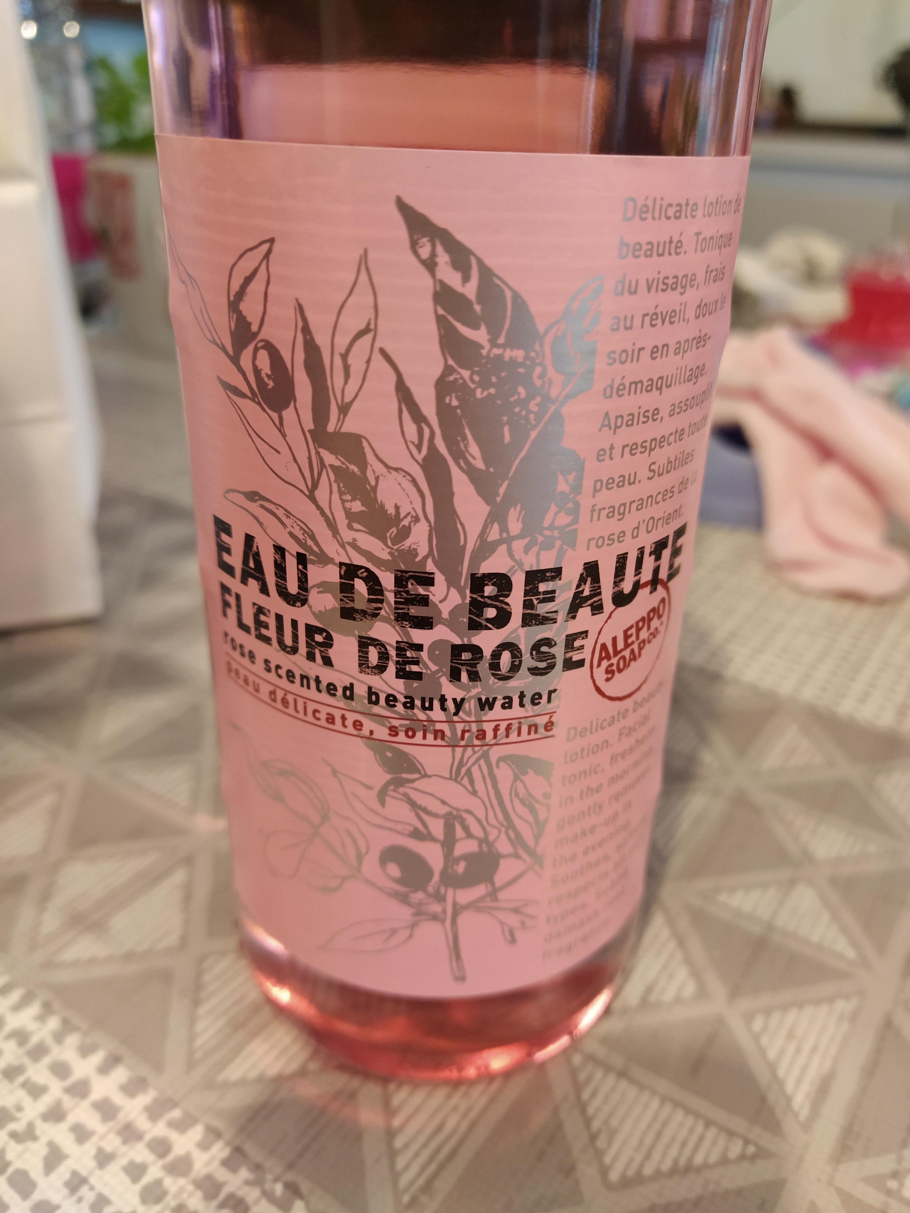 J'ai testé pour vous eau de beauté florale «fleur de rose»
