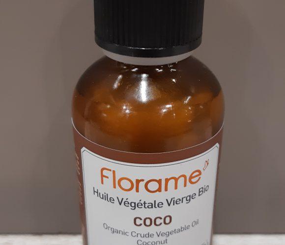 J'ai testé pour vous huile végétale vierge bio Coco