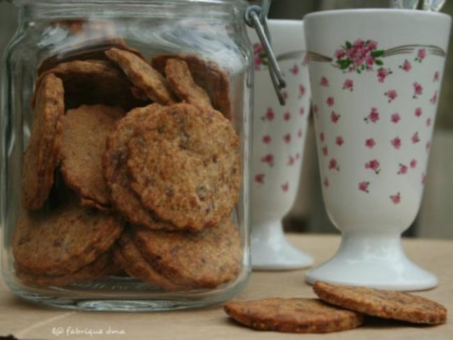 Biscuits aux figues et sucre de canne complet Bio