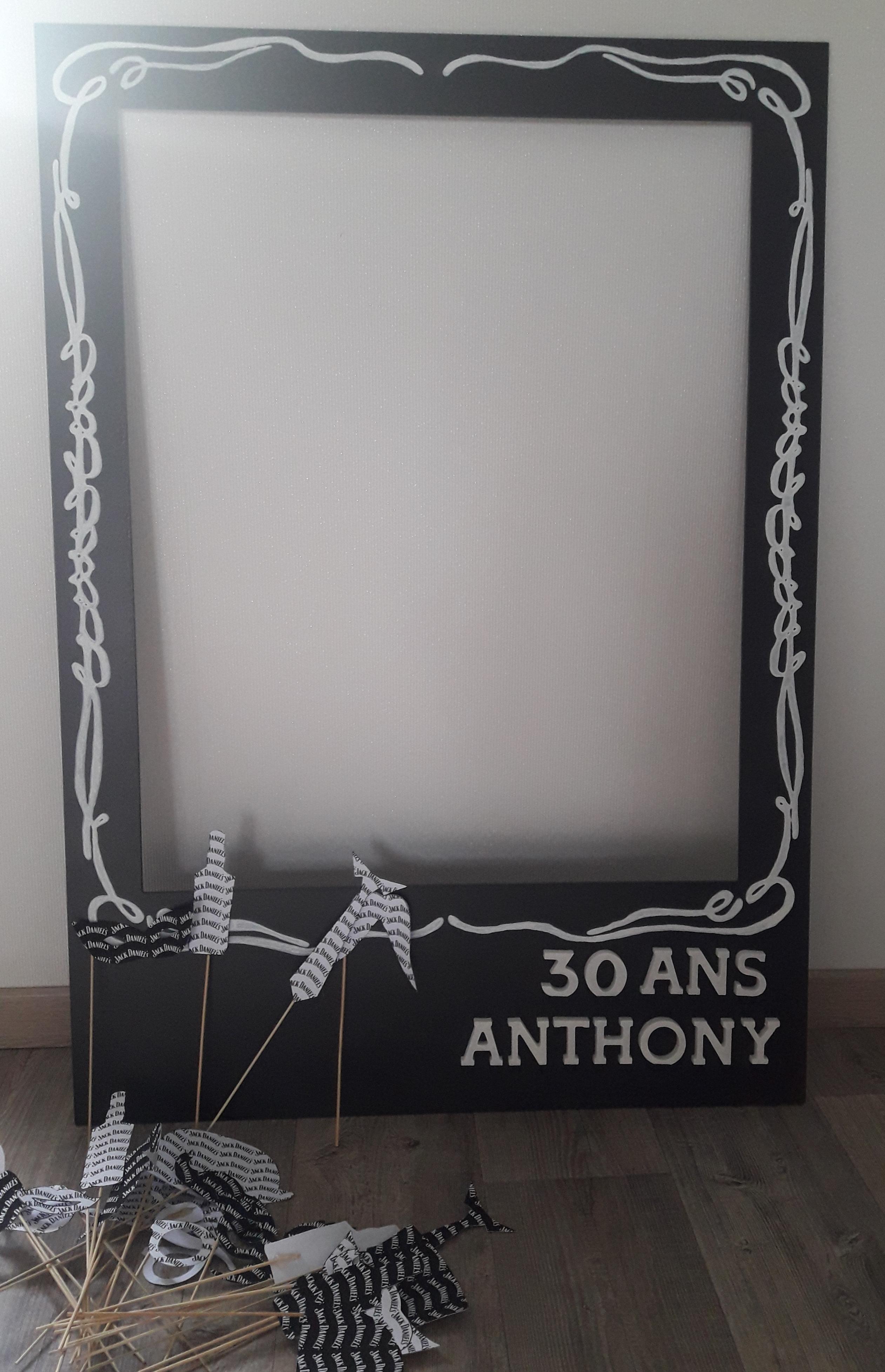 J'ai testé pour vous le cadre polaroid photobooth géant de chez gomille