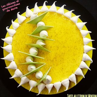 La tarte au citron de Menton
