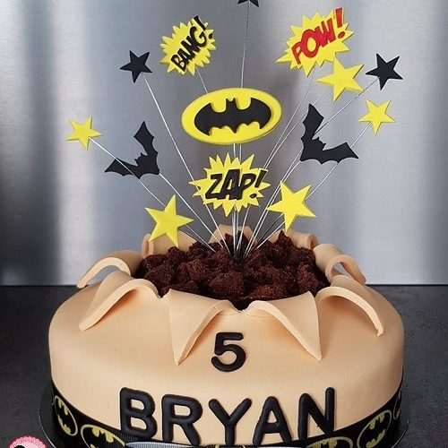Cake design Batman