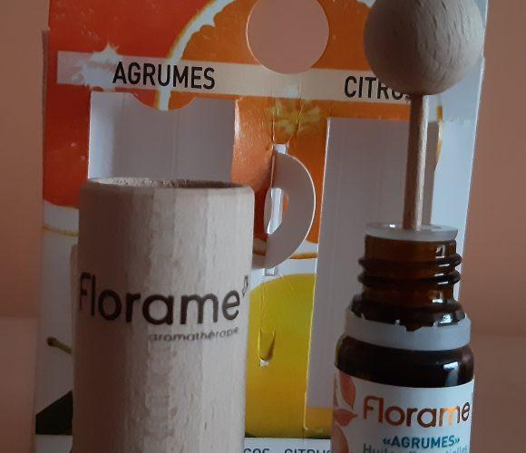 Diffuseur d'huiles essentielles bio   parfum agrumes