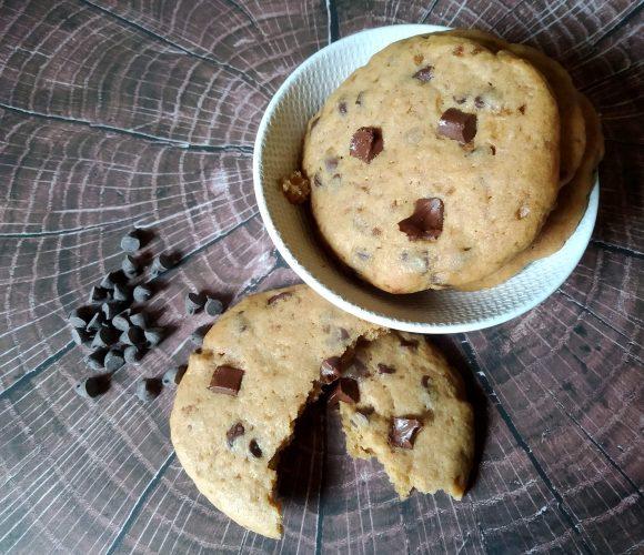 cookies aux drops de Cacao Barry