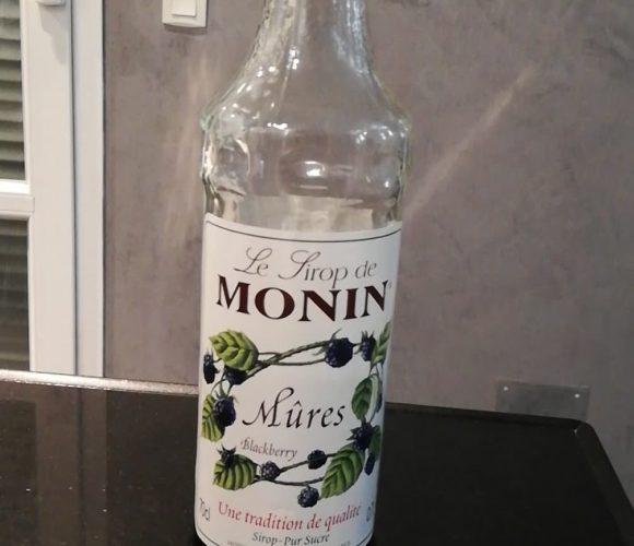 Sirop Monin aux Mûres