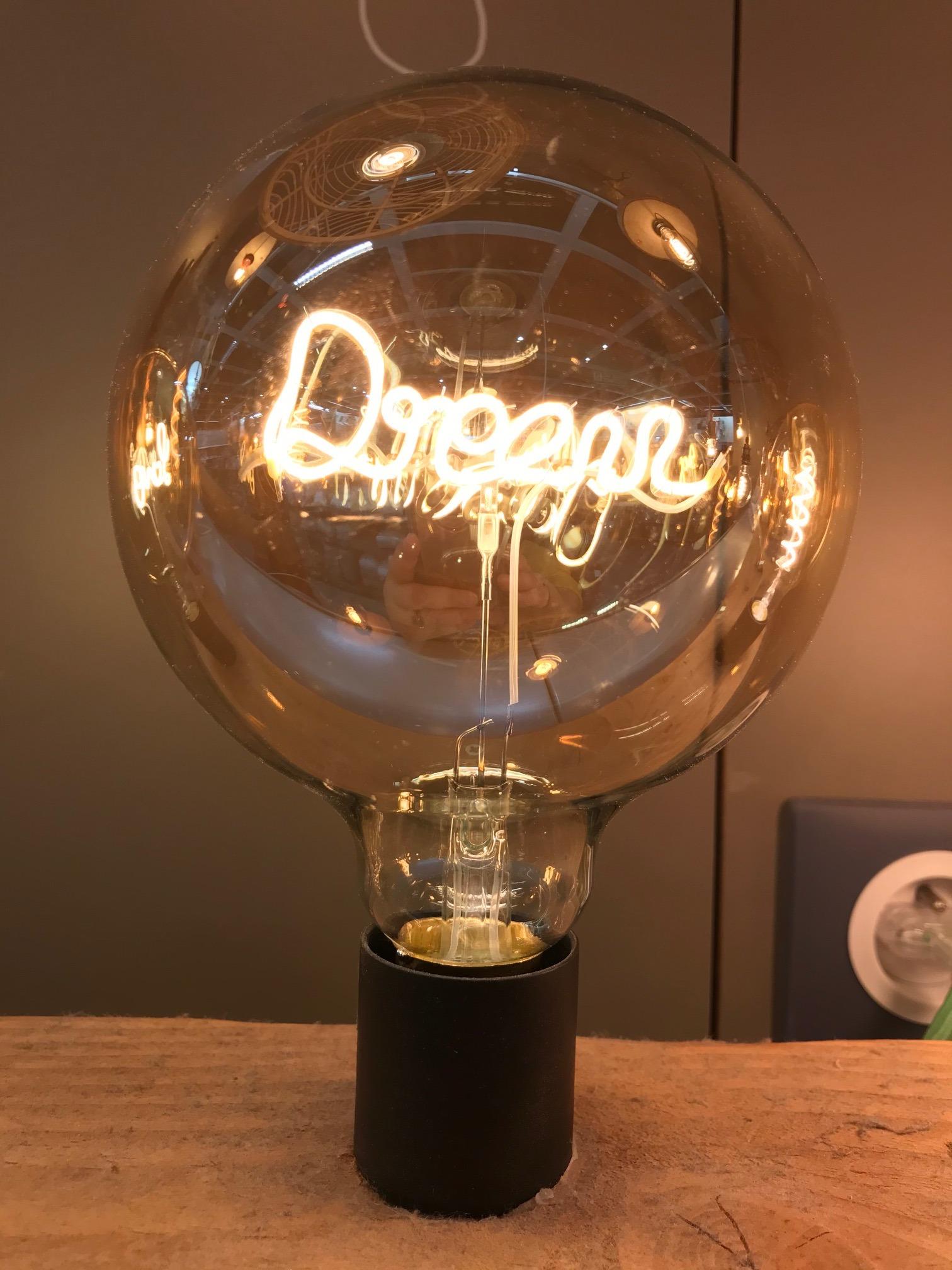 J'ai testé pour vous l'ampoule déco Dream !