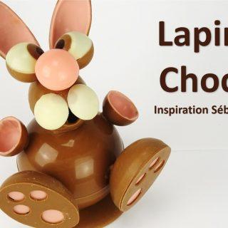 LAPIN EN CHOCOLAT, inspiration Sébastien Bouillet