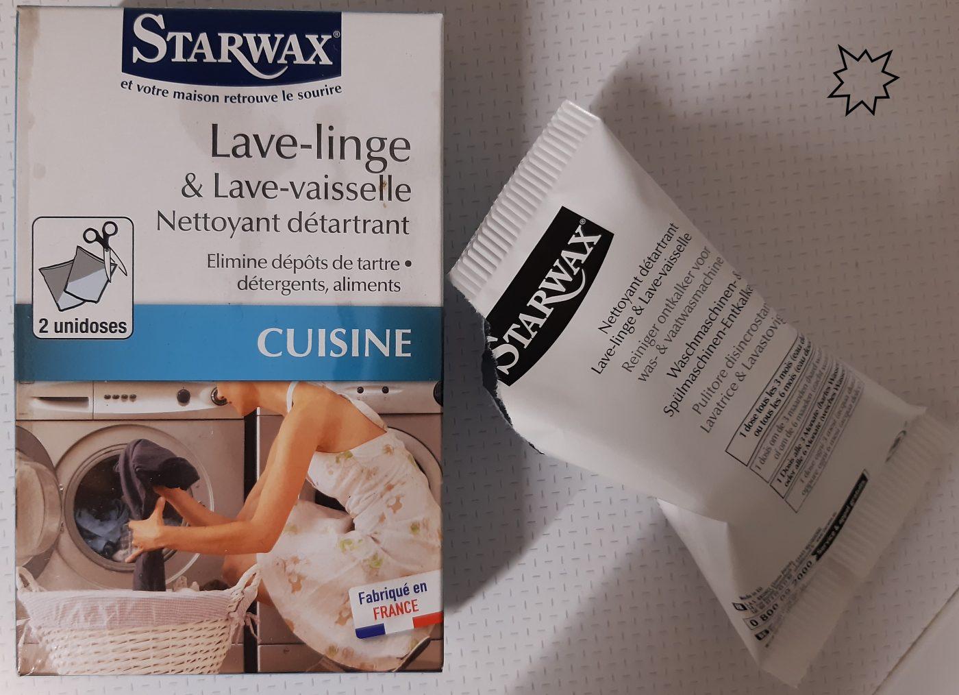 Astuce : garder sa machine à laver / lave vaisselle plus longtemps   STARWAX