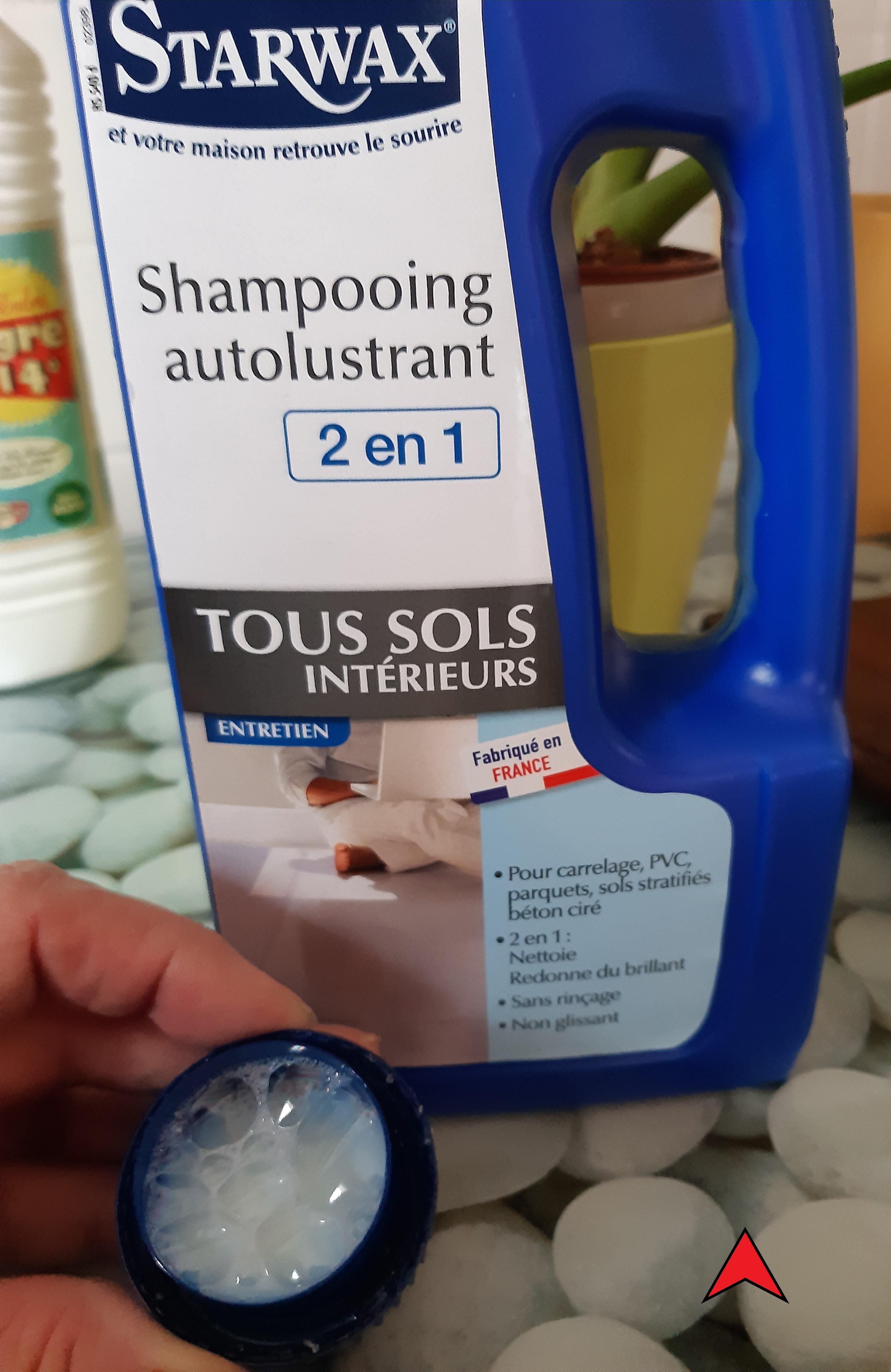 J'ai testé pour vous shampoing 2 en 1 STARWAX pour tous les sols   SANS RINÇAGE !!