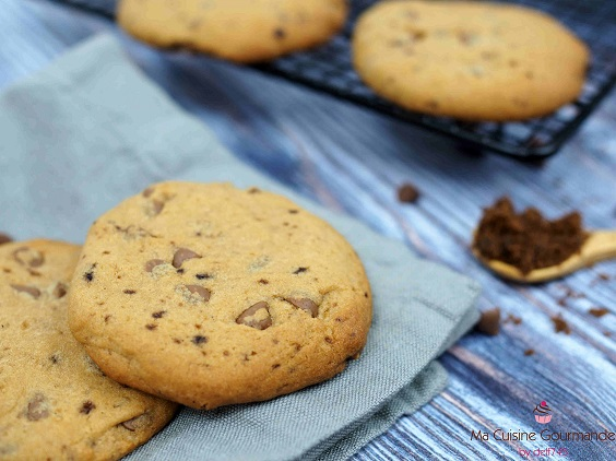 Cookies Tendres aux Pépites Lactées
