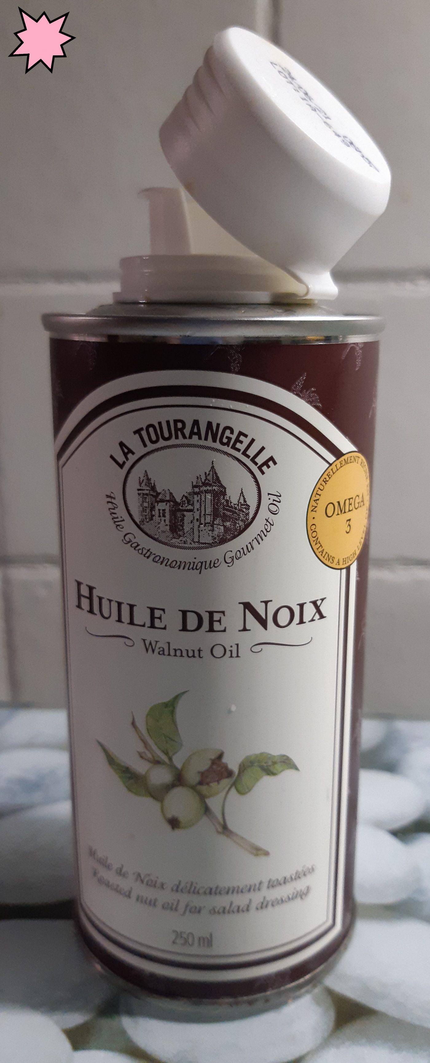 J'ai testé pour vous l'huile de Noix  et ses bien faits pour la santé