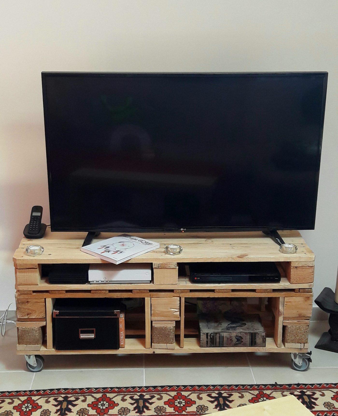 Meuble Tv En Palettes Blog Zodio